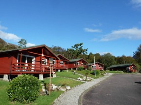 Chalets in row