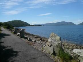 Cycle path Loch Linnhe