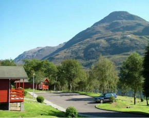 View of Pap of Glencoe from Stag Chalet