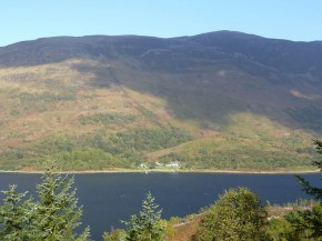 View of site from Ballachulish