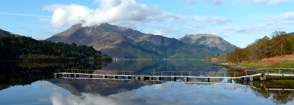 Loch Leven towards Glencoe